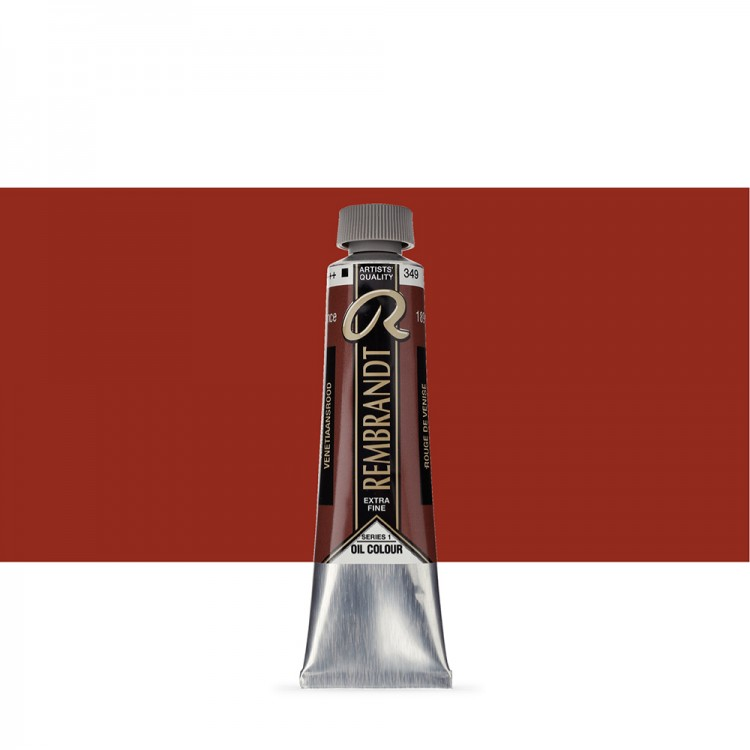 Talens : Rembrandt Oil Paint : 40 ml Tube : Venetian Red