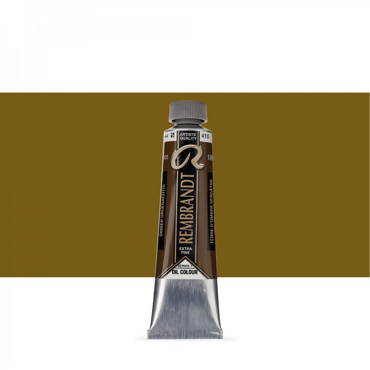 Talens : Rembrandt Oil Paint : 40 ml : Greenish Umber