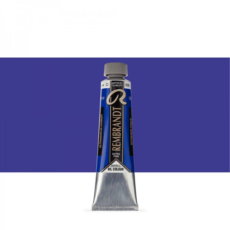 Talens : Rembrandt Oil Paint : 40 ml Tube : Ultramarine Deep