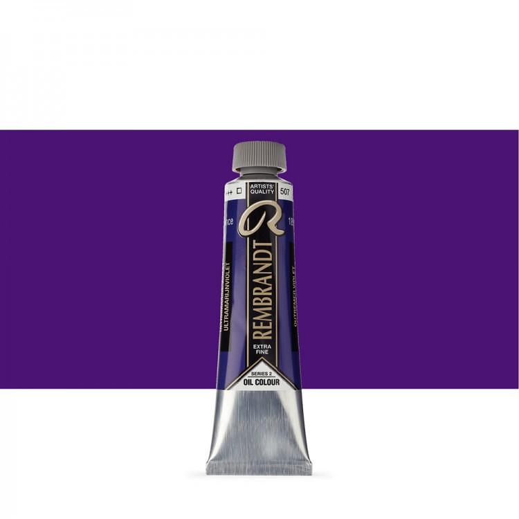 Talens : Rembrandt Oil Paint : 40 ml Tube : Ultramarine Violet