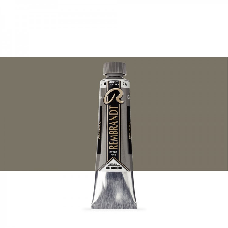 Talens : Rembrandt Oil Paint : 40 ml Tube : Warm Grey