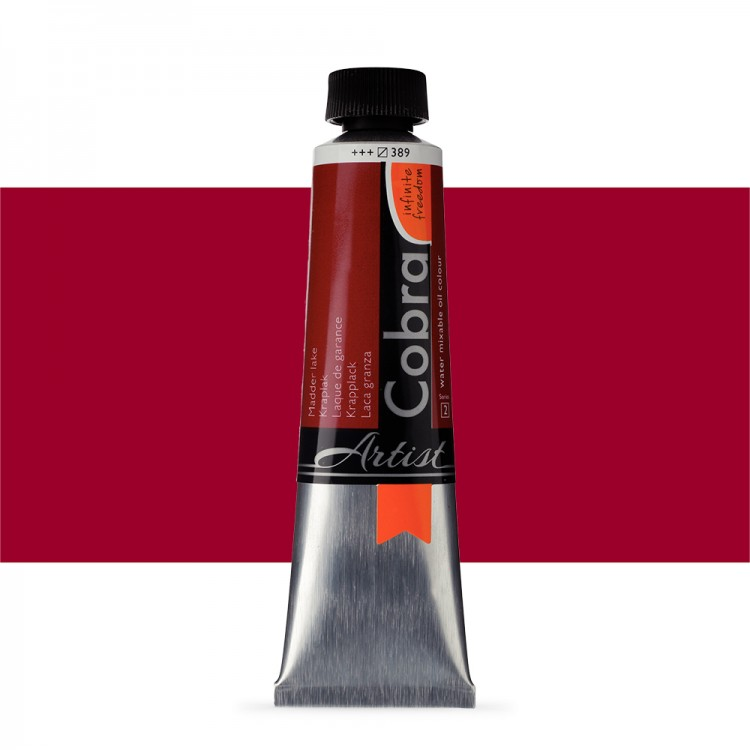 Talens : Cobra Artist Water Mixable Oil Paint : 40ml Madder Lake