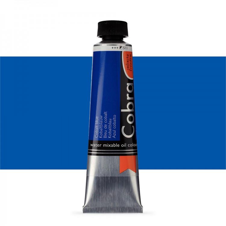 Talens : Cobra Artist Water Mixable Oil Paint : 40ml Cobalt Blue