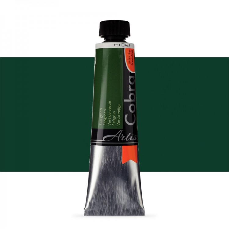 Talens : Cobra Artist Water Mixable Oil Paint : 40ml Sap Green