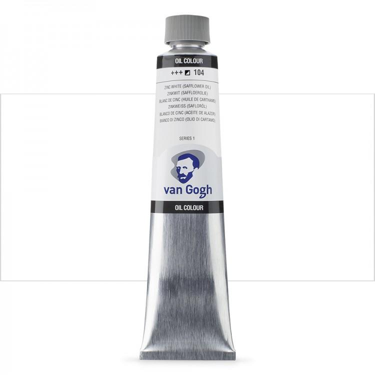Talens : Van Gogh Oil Colour 200ml : ZINC WHITE S1
