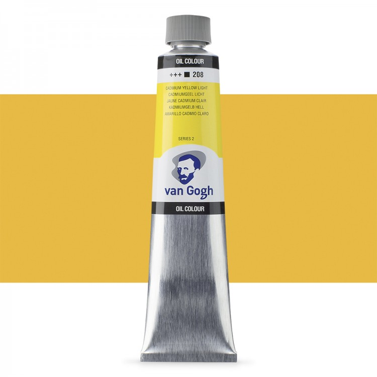 Talens : Van Gogh Oil Paint : 200ml : Cadmium Yellow Lt S2