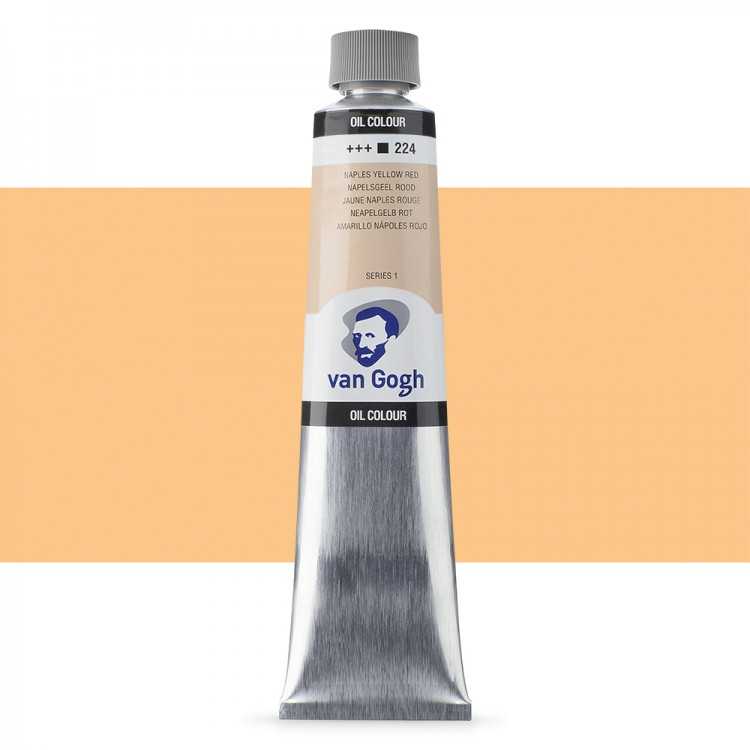 Talens : Van Gogh Oil Colour 200ml : NAPLES YELLOW RED S1