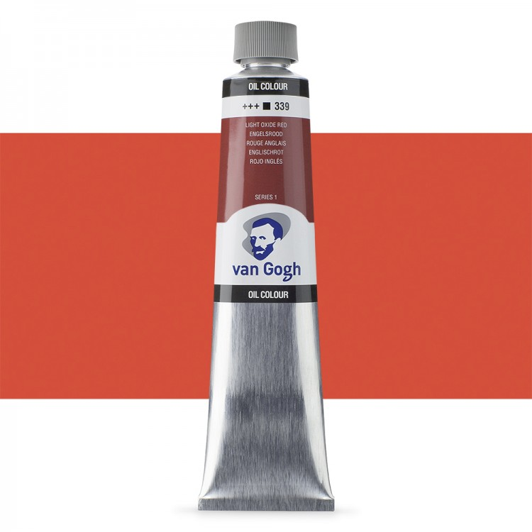 Talens : Van Gogh Oil Colour 200ml : LIGHT OXIDE RED S1