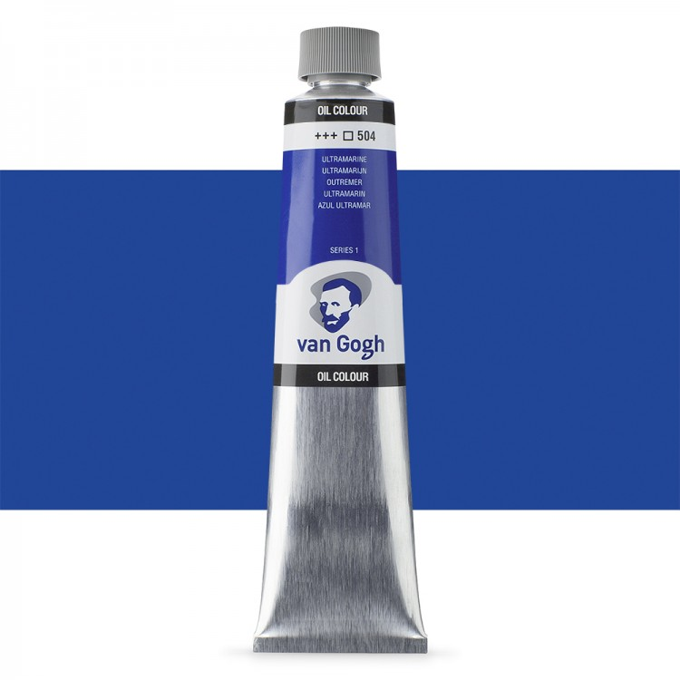 Talens : Van Gogh Oil Colour 200ml : ULTRAMARINE S1