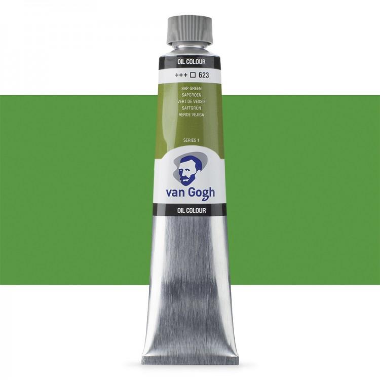 Talens : Van Gogh Oil Colour 200ml : SAP GREEN S1
