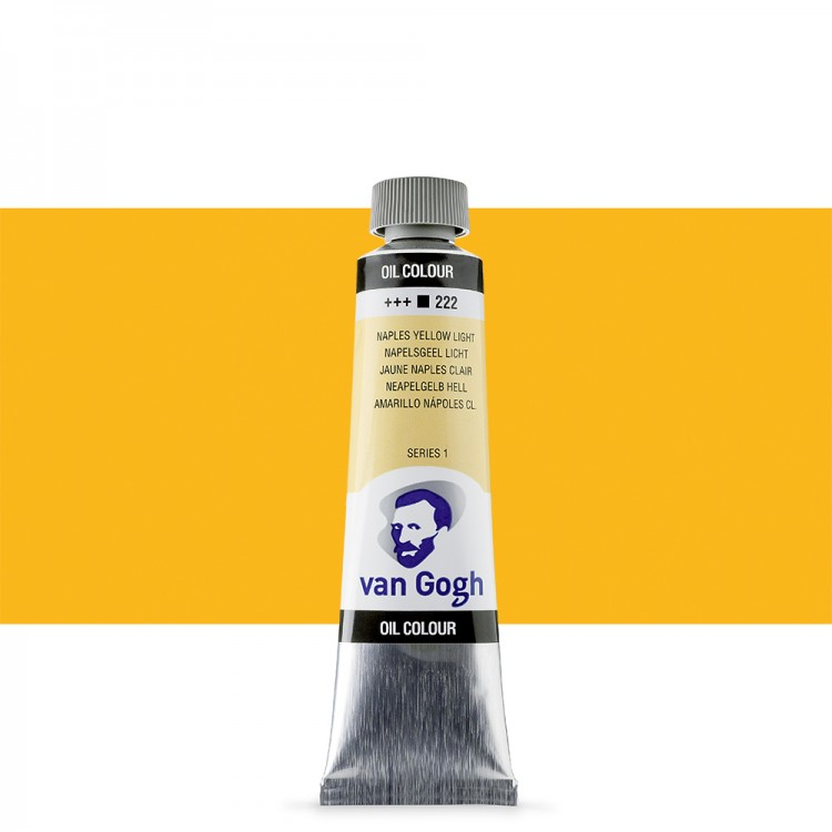 Talens : Van Gogh Oil Paint : 40ml : Naples Yellow Light S1