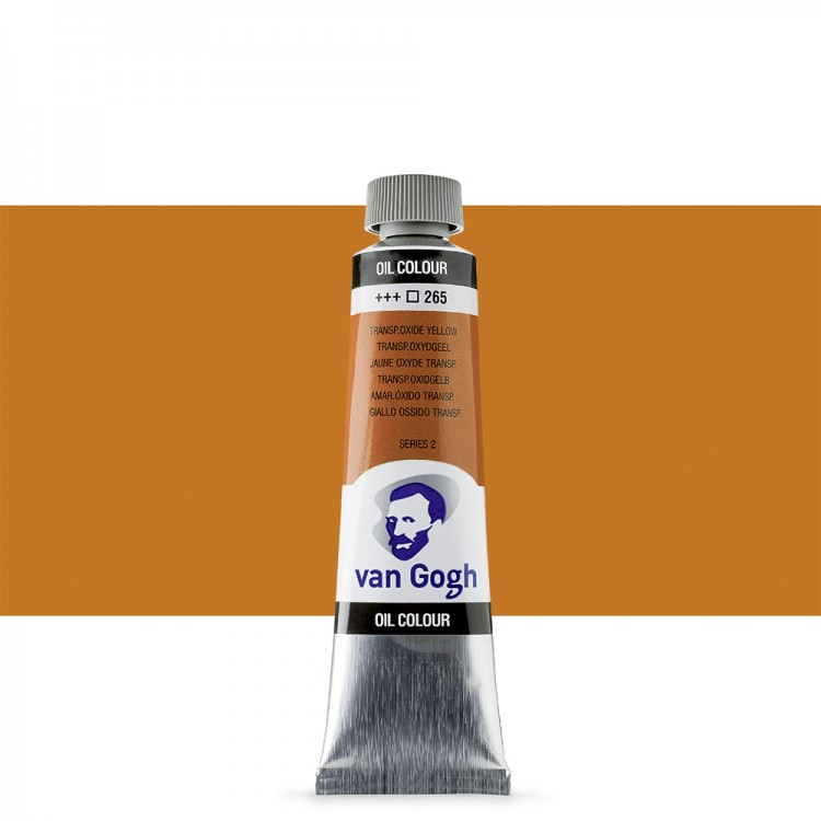 Talens : Van Gogh Oil Colour 40ml : TRANSPARENT OXIDE YELLOW S2