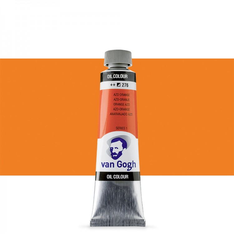 Talens : Van Gogh Oil Paint 40ml : Azo Orange S1