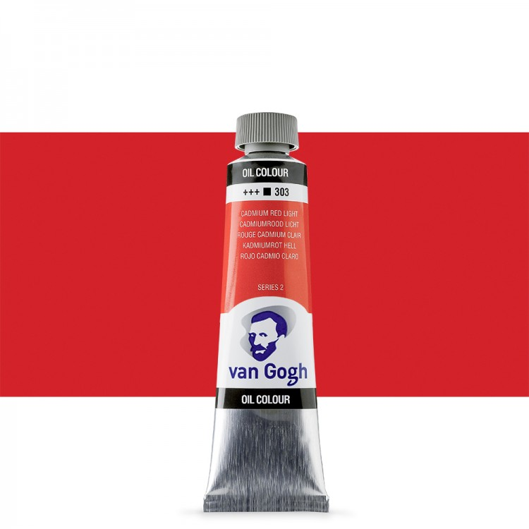 Talens : Van Gogh Oil Paint : 40ml : Cadmium Red Light S2