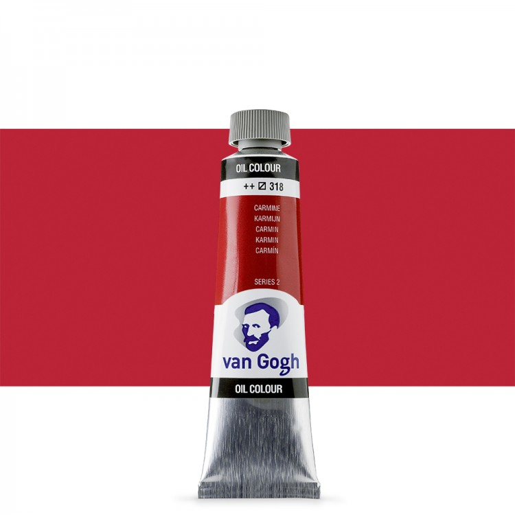 Talens : Van Gogh Oil Paint : 40ml : Carmine S2