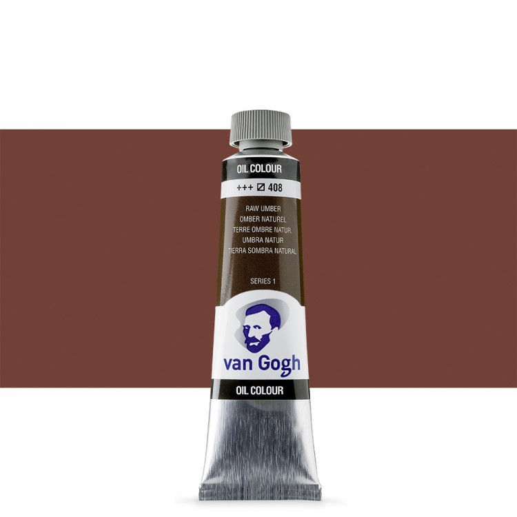 Talens : Van Gogh Oil Paint : 40ml : Raw Umber S1