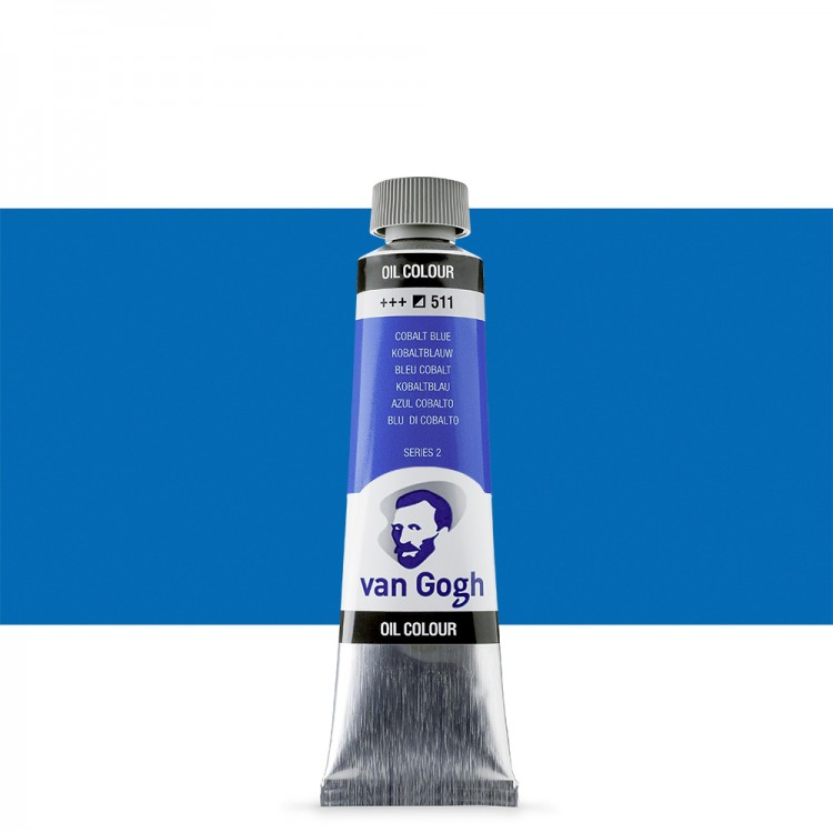 Talens : Van Gogh Oil Paint 40ml : Cobalt Blue S2
