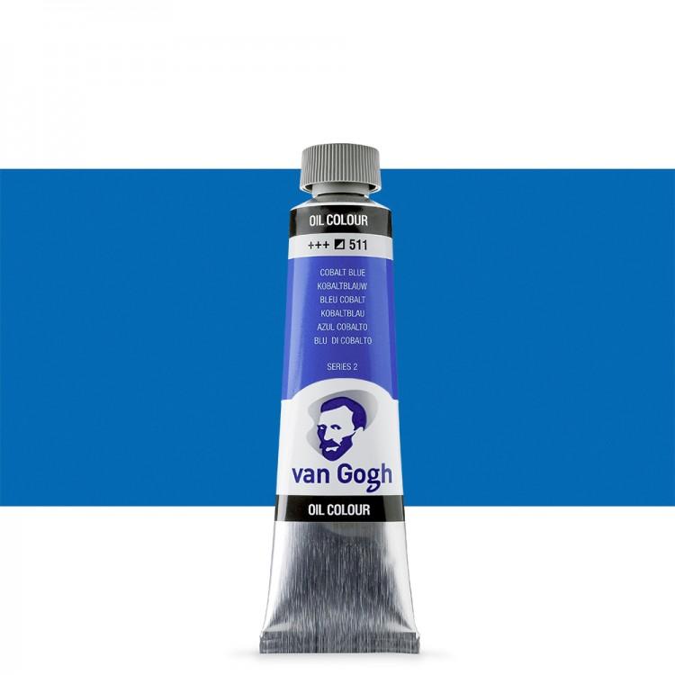 Talens : Van Gogh Oil Paint 40ml : Cobalt Blue S2
