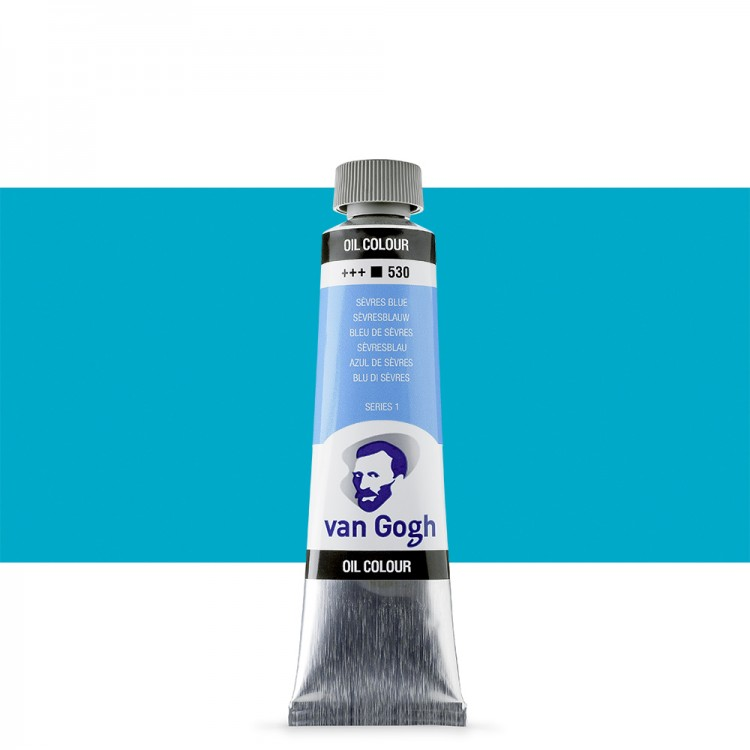 Talens : Van Gogh Oil Paint 40ml : Sevres Blue S1