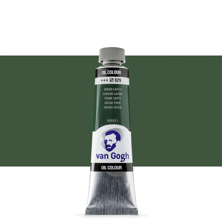 Talens : Van Gogh Oil Paint : 40ml : Terre:Verte (Green Earth) S1