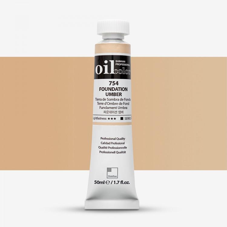 ShinHan : Oil Paint : 50ml : Foundation Umber