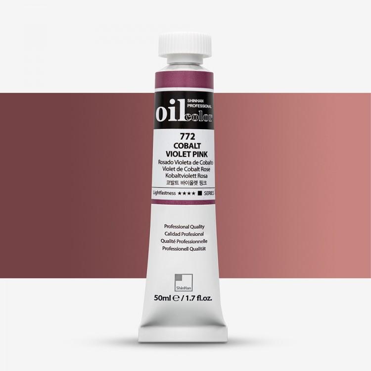 ShinHan : Oil Paint : 50ml : Cobalt Violet Pink