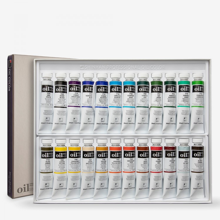 ShinHan : Oil Paint : 20ml : Set of 24