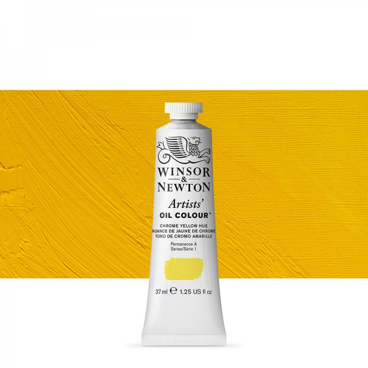 Winsor & Newton : Artists Oil Paint : 37ml : Chrome Yellow Hue