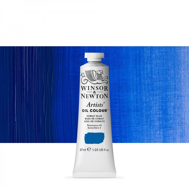 Winsor & Newton : Artists Oil Paint : 37ml Tube : Cobalt Blue
