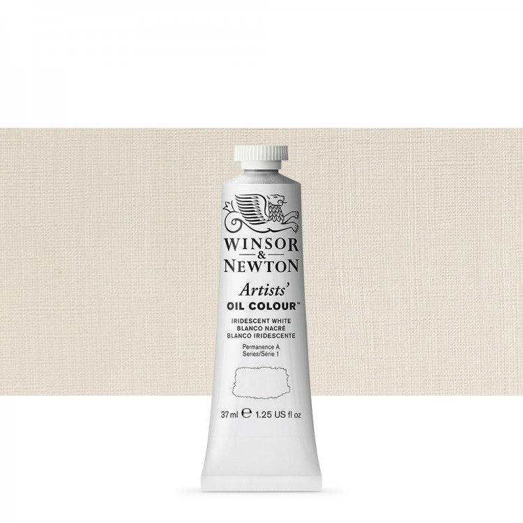 Winsor & Newton : Artists Oil Paint : 37ml : Iridescent White