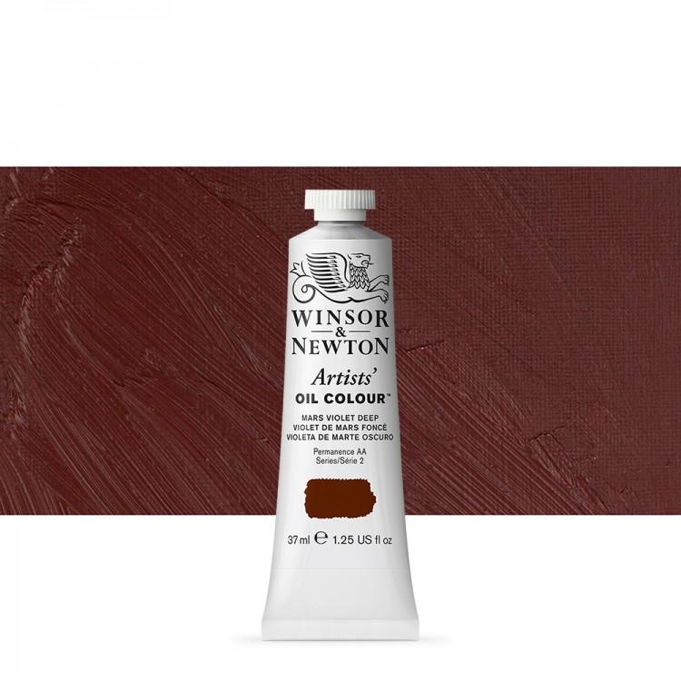 Winsor & Newton : Artists Oil Paint : 37ml : Mars Violet Deep