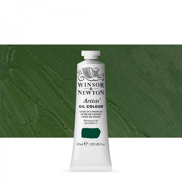 Winsor & Newton : Artists Oil Paint : 37ml Tube : Oxide Of Chromium