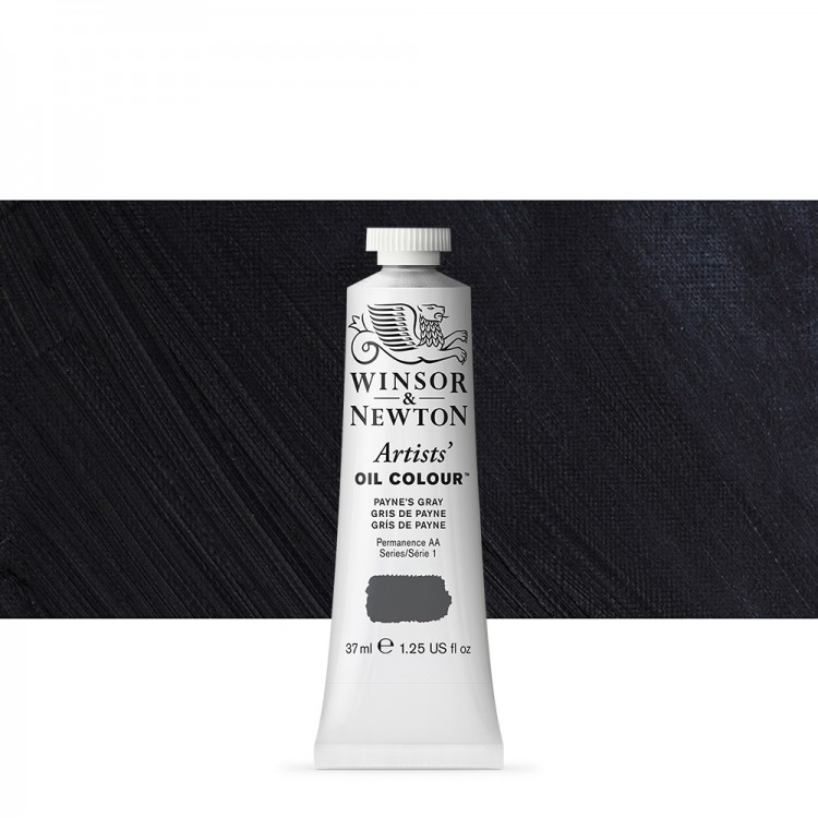 Winsor And Newton : Artists Oil : 37ml Tube : Payne's Grey