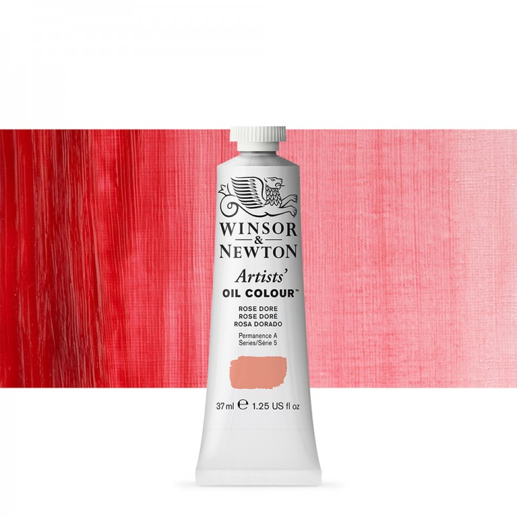 Winsor & Newton : Artists Oil Paint : 37ml Tube : Rose Dore