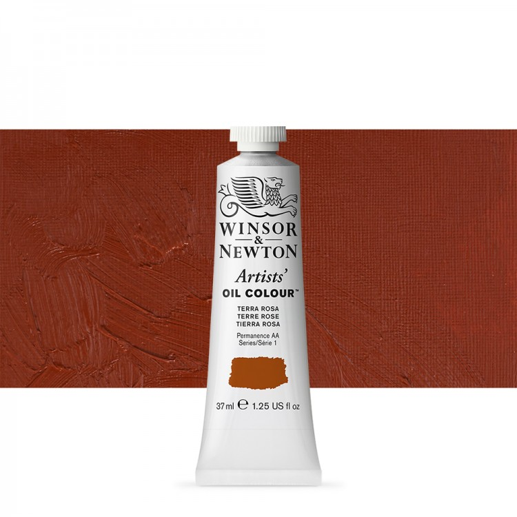 Winsor & Newton : Artists Oil Paint : 37ml Tube : Terra Rosa