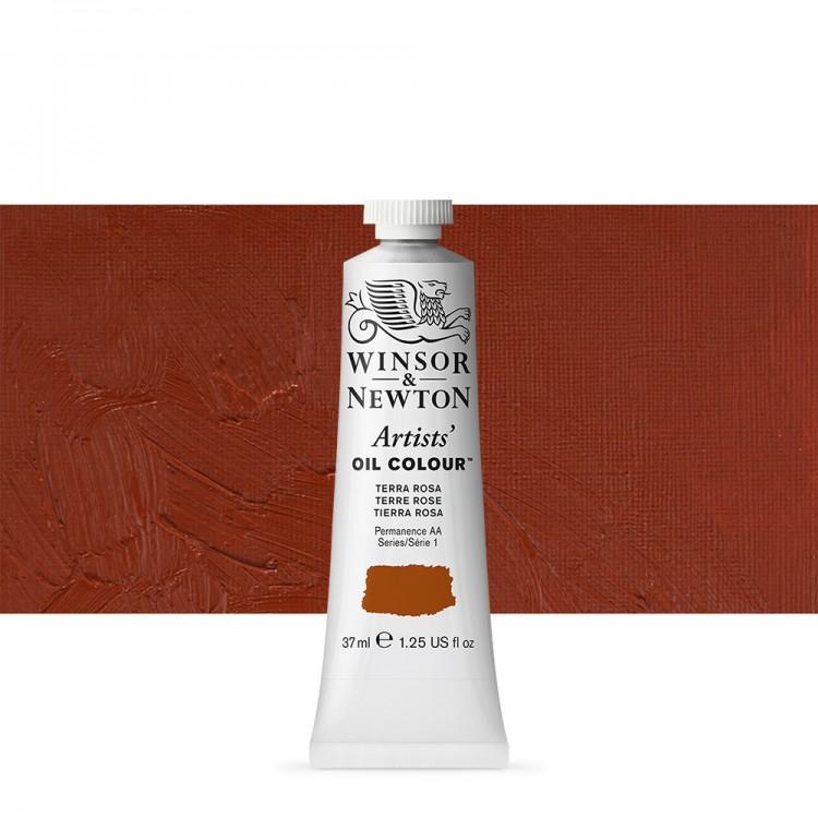 Winsor & Newton : Artists Oil Paint : 37ml Tube : Terra Rosa