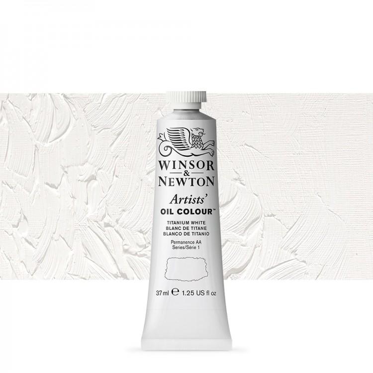 Winsor & Newton : Artists Oil Paint : 37ml : Titanium White