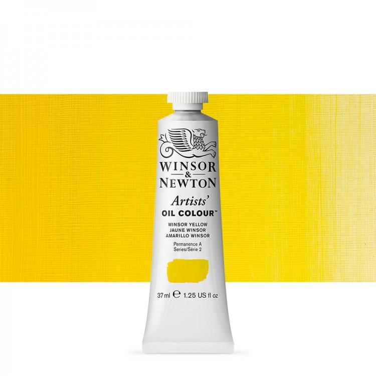 Winsor & Newton : Artists Oil Paint : 37ml : Winsor Yellow