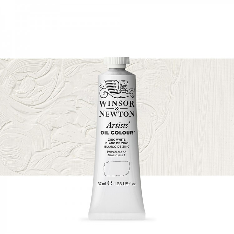 Winsor & Newton : Artists Oil Paint : 37ml : Zinc White