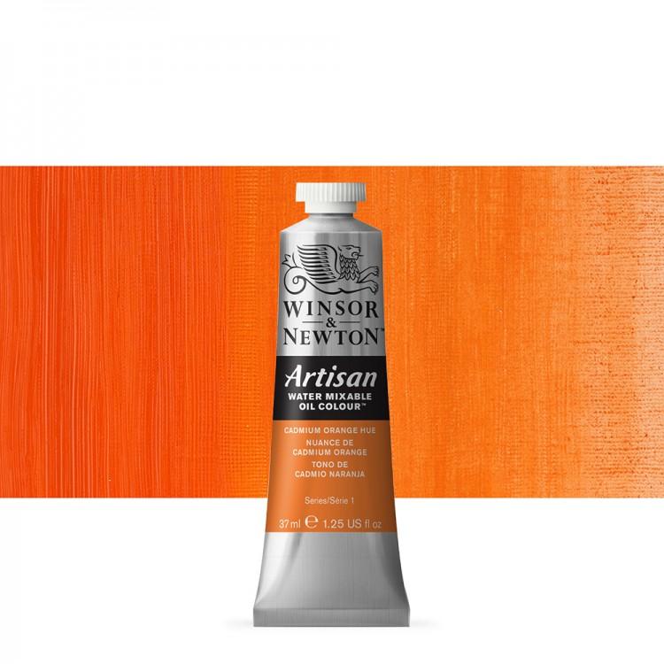 Winsor & Newton : Artisan Water Mixable Oil Paint : 37ml : Cadmium Orange Hue