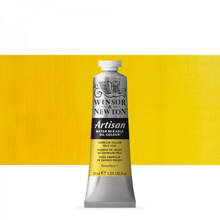 Winsor & Newton : Artisan Water Mixable Oil : 37ml : Cadmium Yellow Pale Hue