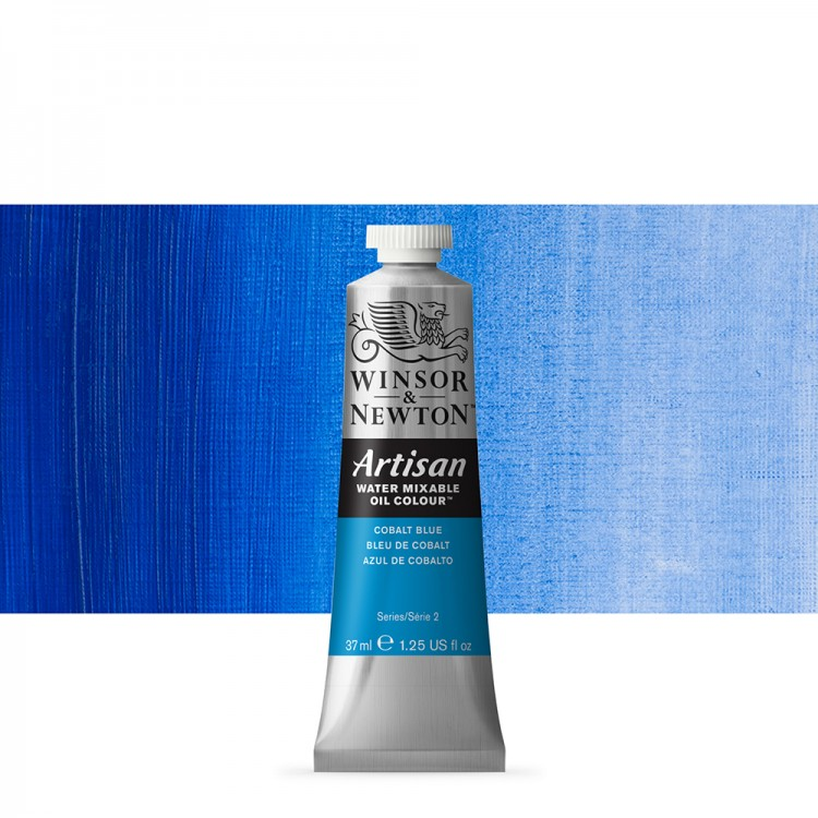 Winsor & Newton : Artisan Water Mixable Oil Paint : 37ml : Cobalt Blue
