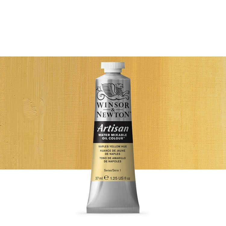 Winsor & Newton : Artisan Water Mixable Oil Paint : 37ml : Naples Yellow Hue