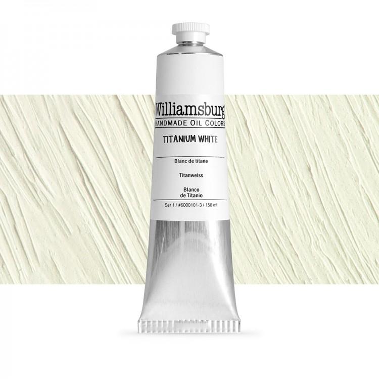 Williamsburg : Oil Paint : 150ml Titanium White