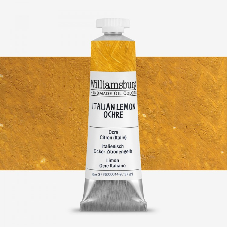 Williamsburg : Oil Paint : 37ml Italian Lemon Ochre