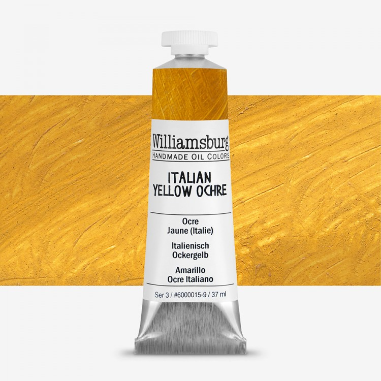 Williamsburg : Oil Paint : 37ml Italian Yellow Ochre