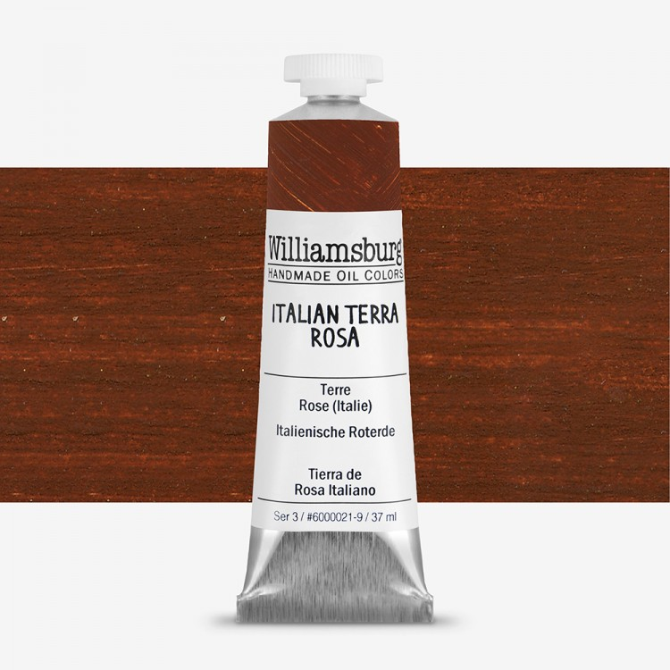 Williamsburg : Oil Paint : 37ml Italian Terra Rosa