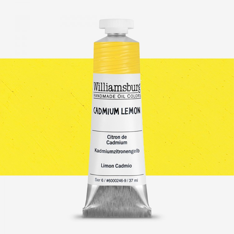Williamsburg Oil Paint 37ml : Cadmium Lemon