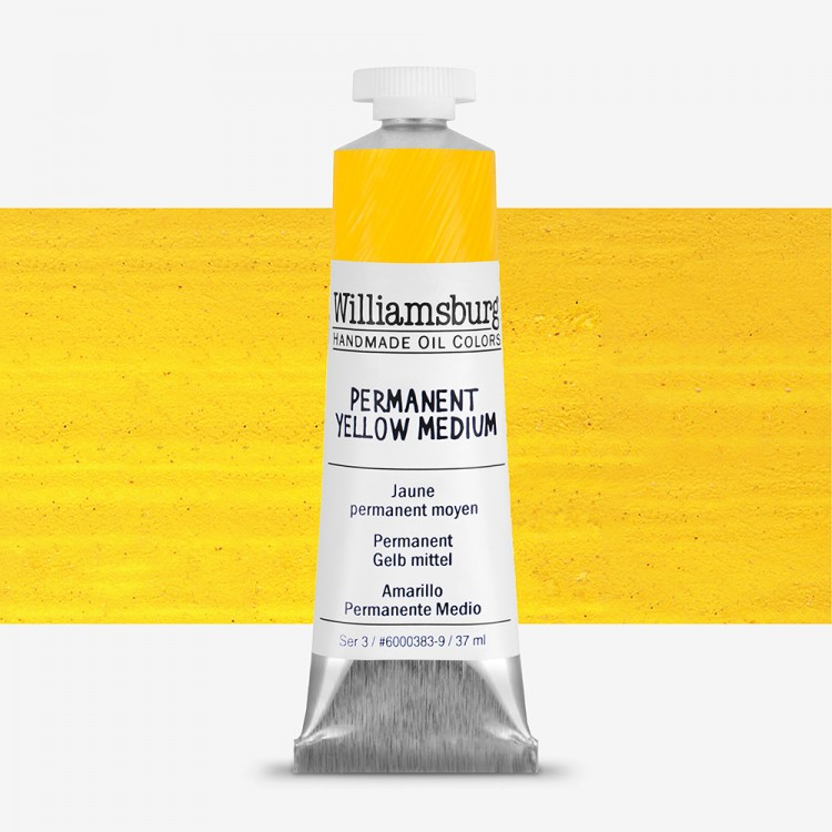 Williamsburg : Oil Paint : 37ml Permanent Yellow Medium