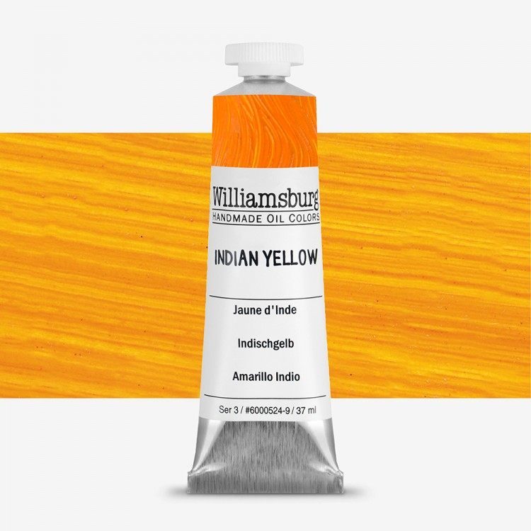 Williamsburg : Oil Paint : 37ml Indian Yellow